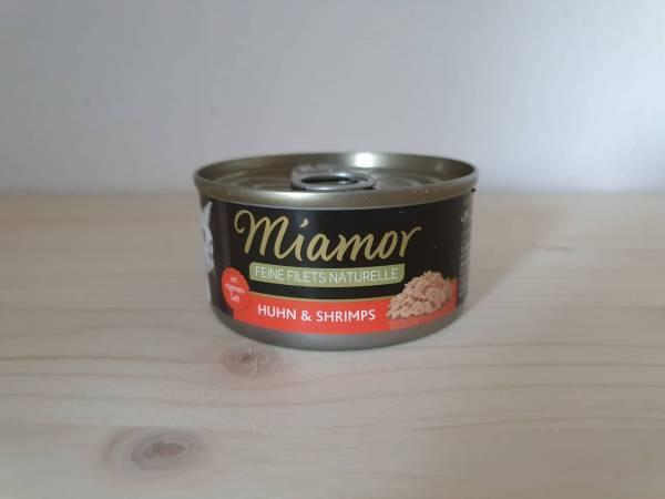 Miamor Dose Feine Filets Naturelle Huhn & Shrimps