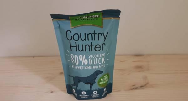 Natures Menu - Country Hunter Dog Frischebeutel 80% Saftige Ente