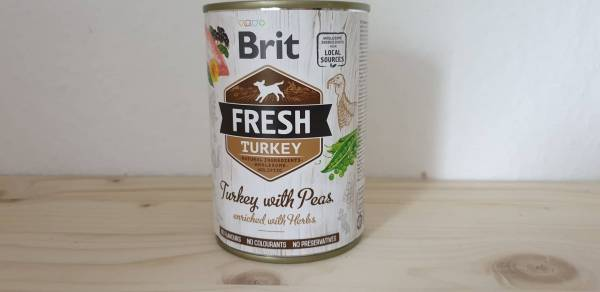 Brit Fresh - Turkey with Peas