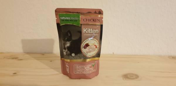Natures Menu - Kitten - Mahlzeit mit Huhn