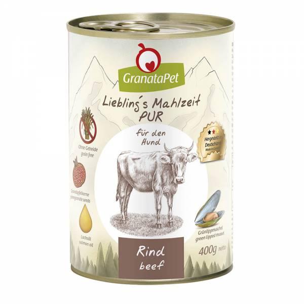 GranataPet - Liebling´s Mahlzeit - PUR Rind