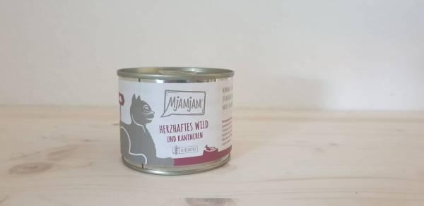 MjAMjAM - herzhaftes Wild & Kaninchen