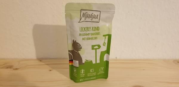 MjAMjAM - Quetschie - leckeres Rind an gedämpftem Kürbis