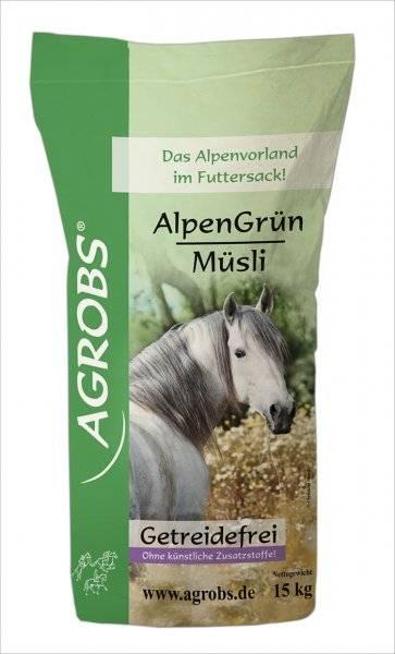 Agrobs Alpen Grün Müsli 15 kg Sack