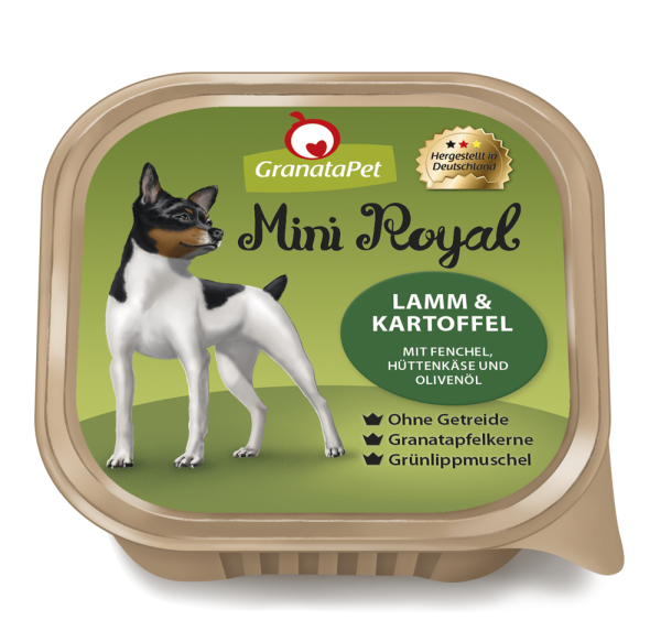 GranataPet - Mini Royal Lamm & Kartoffel