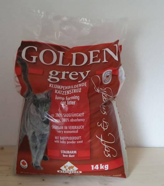 Golden grey - Katzenstreu