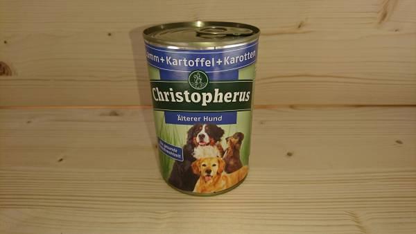 Christopherus - Älterer Hund / Lamm, Kartoffeln, Karotten