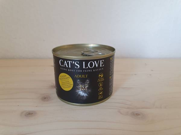 Cats Love - Adult Mix Kalb & Truthahn