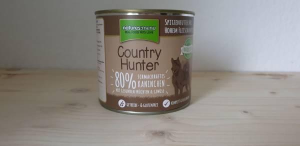 Natures Menu - Country Hunter Dog Dose 80% Kaninchen