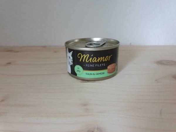 Miamor Feine Filets Thunfisch & Gemüse