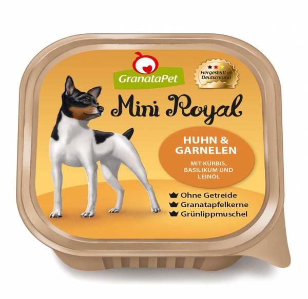 GranataPet - Mini Royal Huhn & Garnelen