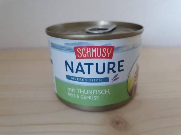 Schmusy Nature Thunfisch, Reis & Gemüse