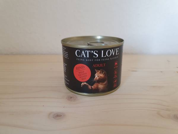 Cats Love - Adult Rind Pur