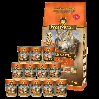 Wolfsblut Wild Camel ADULT Kombipaket 15kg / 12 x 395g | futter ranch