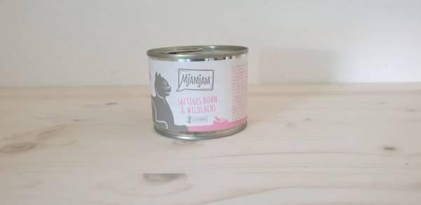 MjAMjAM - saftiges Huhn & Wildlachs