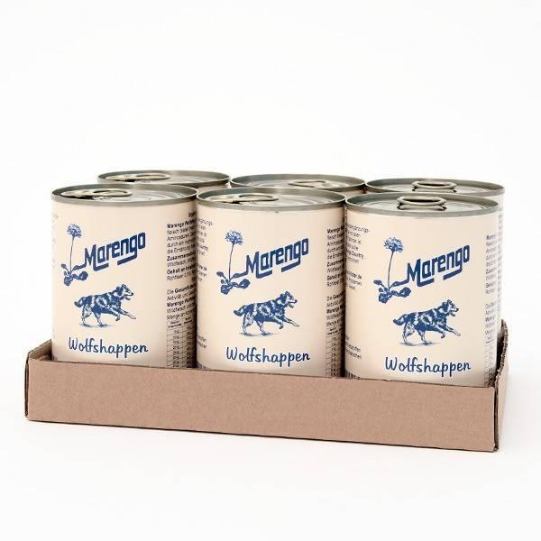 6 x 400 g Marengo Wolfshappen