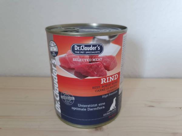 Dr. Clauder's - Dog Dose Selected Meat Rind