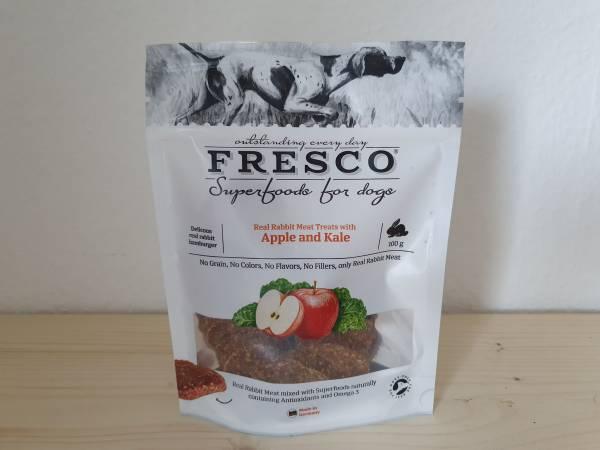 Fresco - Kaninchenhamburger mit Apfel und Grünkohl
