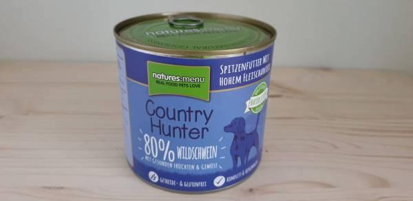 Natures Menu - Country Hunter Dog Dose 80% Feinstes Wildschwein