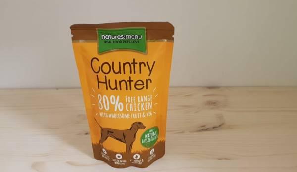 Natures Menu - Country Hunter Dog Frischebeutel 80% Freilandhuhn