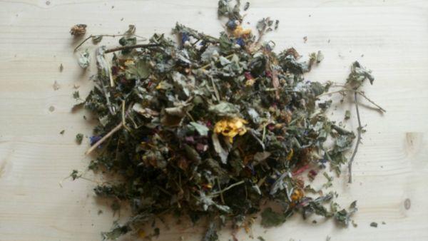 Blatt-und Blütenmix