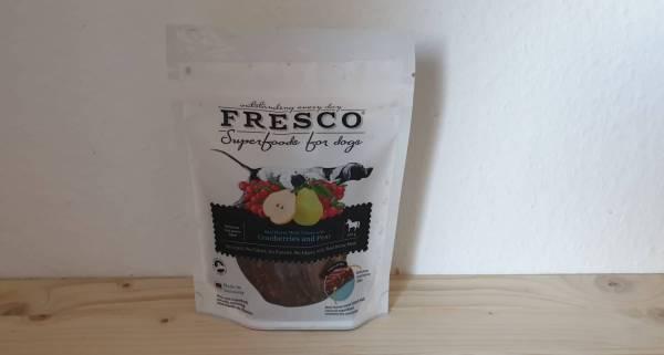 Fresco - Pferdefilets mit Preiselbeeren und Birnen