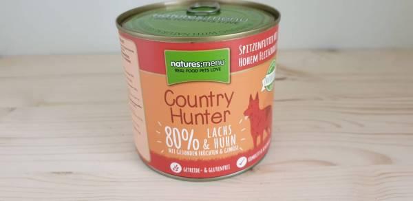 Natures Menu - Country Hunter Dog Dose 80% Lachs & Huhn