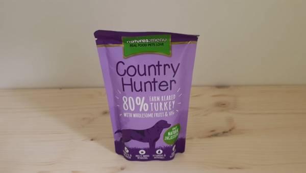 Natures Menu - Country Hunter Dog Frischebeutel 80% Pute
