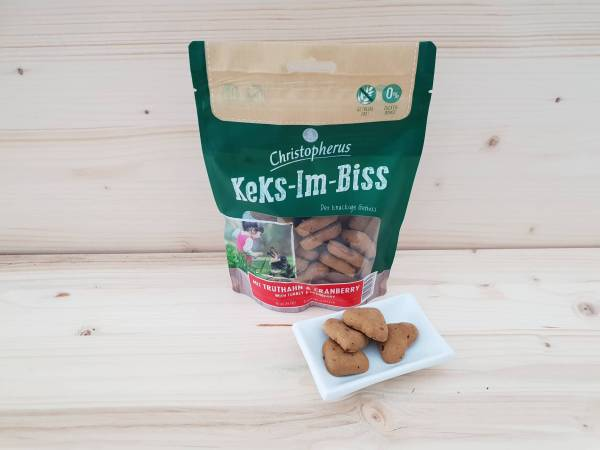 Christopherus Snacks Keks-Im-Biss mit Truthahn & Cranberry