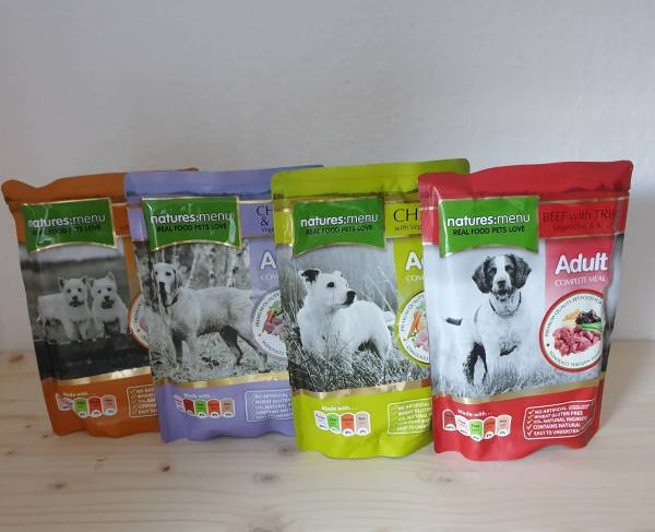 Natures Menu - Dog Frischebeutel Multipack