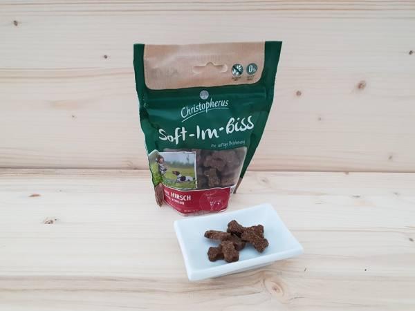 Christopherus - Snacks Soft-Im-Biss mit Hirsch