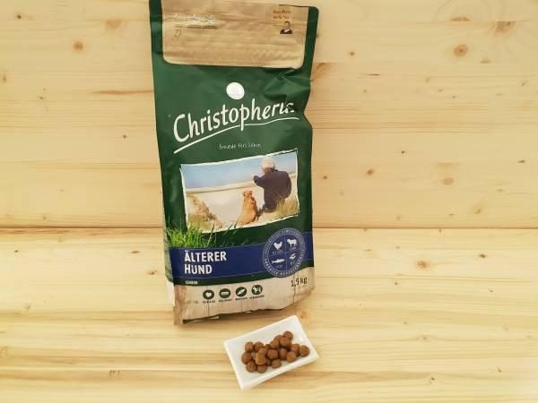 Christopherus Älterer Hund Geflügel,Lamm, Ei & Reis