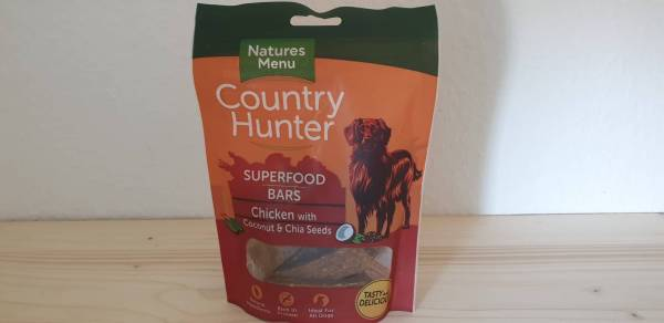Natures Menu - Superfood Bars Huhn mit Kokosnuss & Chiasamen