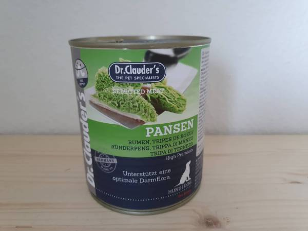Dr. Clauder's - Dog Dose Selected Meat Pansen