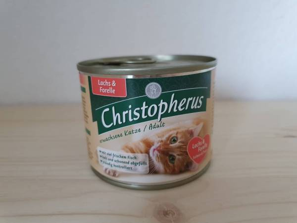 Christopherus - Cat Dose Adult Lachs & Forelle