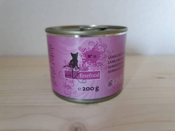 Catz finefood - No.11 Lamm & Kaninchen