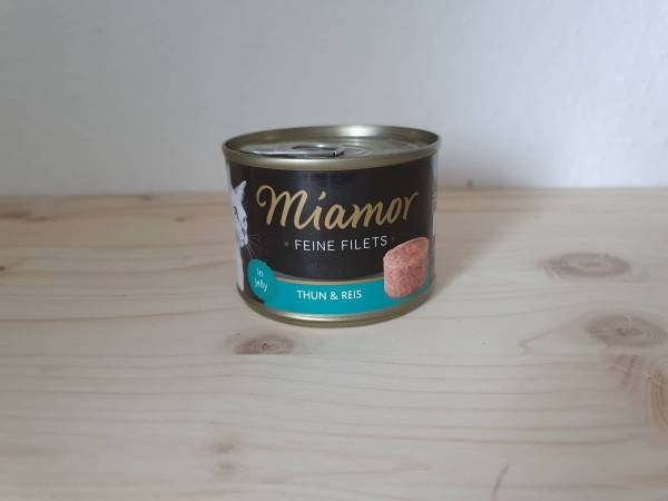 Miamor Feine Filets Thunfisch & Reis