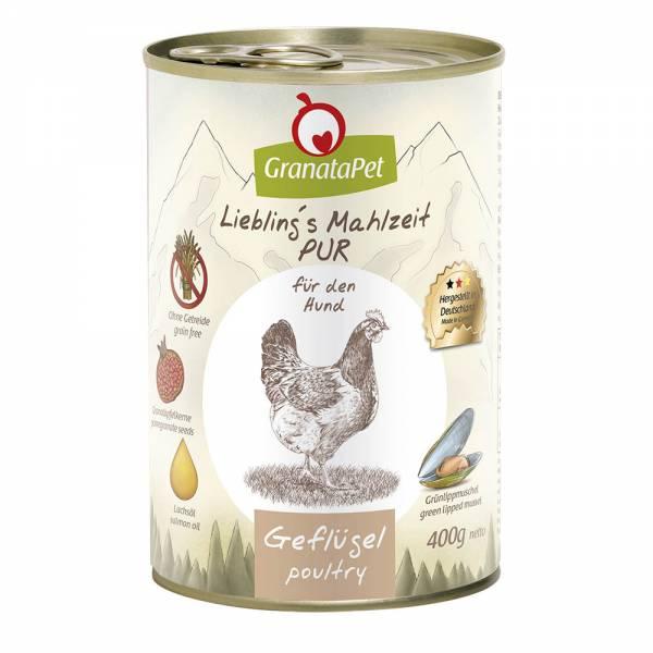 GranataPet - Liebling´s Mahlzeit - PUR Geflügel