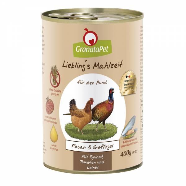 GranataPet - Liebling´s Mahlzeit - Fasan & Geflügel