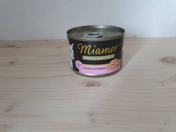 Miamor Feine Filets Naturelle Huhn & Schinken