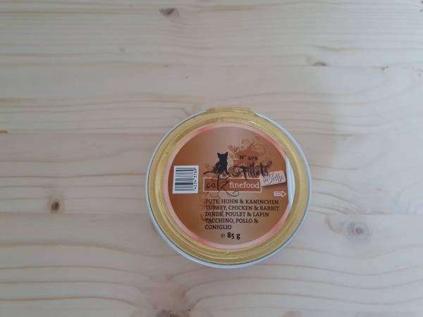 Catz finefood - Fillets N°409 - Pute, Huhn & Kaninchen in Jelly