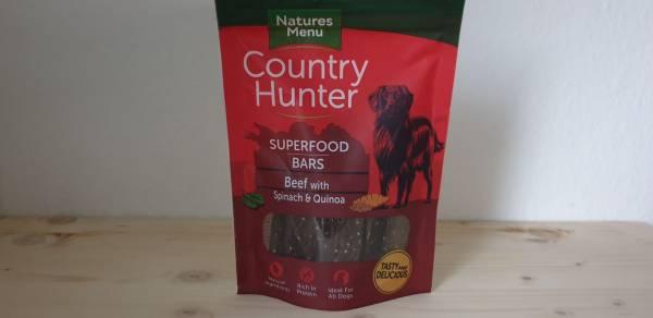 Natures Menu - Superfood Bars Rind mit Spinat & Quinoa
