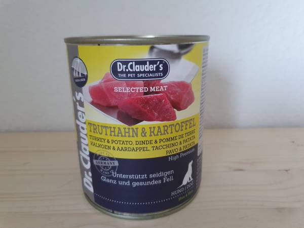 Dr. Clauder's - Dog Dose Selected Meat Truthahn & Kartoffel