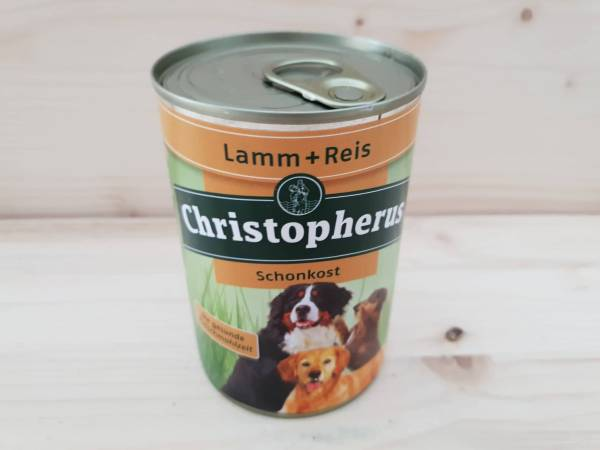 Christopherus Dose Lamm & Reis pur Schonkost
