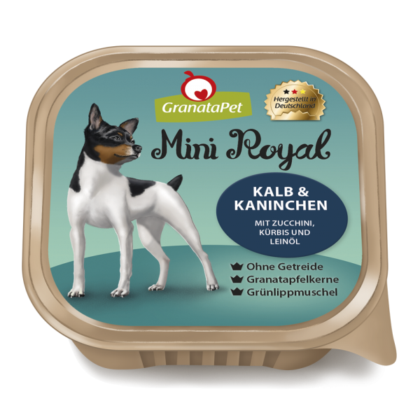 GranataPet - Mini Royal Kalb & Kaninchen